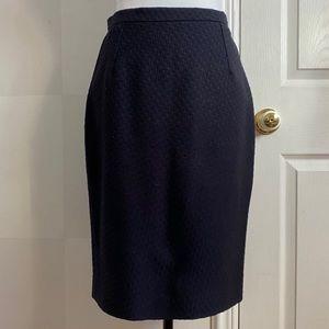 Dolce and Gabbana wool & silk skirt